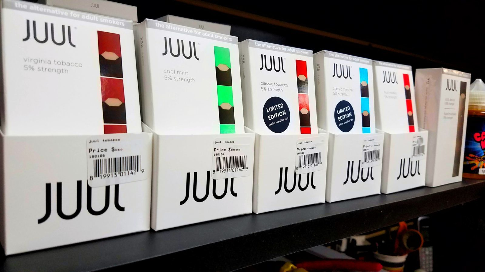 JUUL PODs and Starter Kits for Vaping