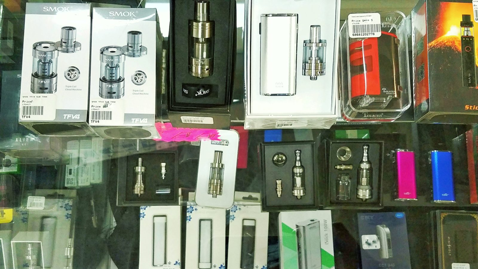 Nautilus, Aspire, SMOK Vaporizers in Store and More....