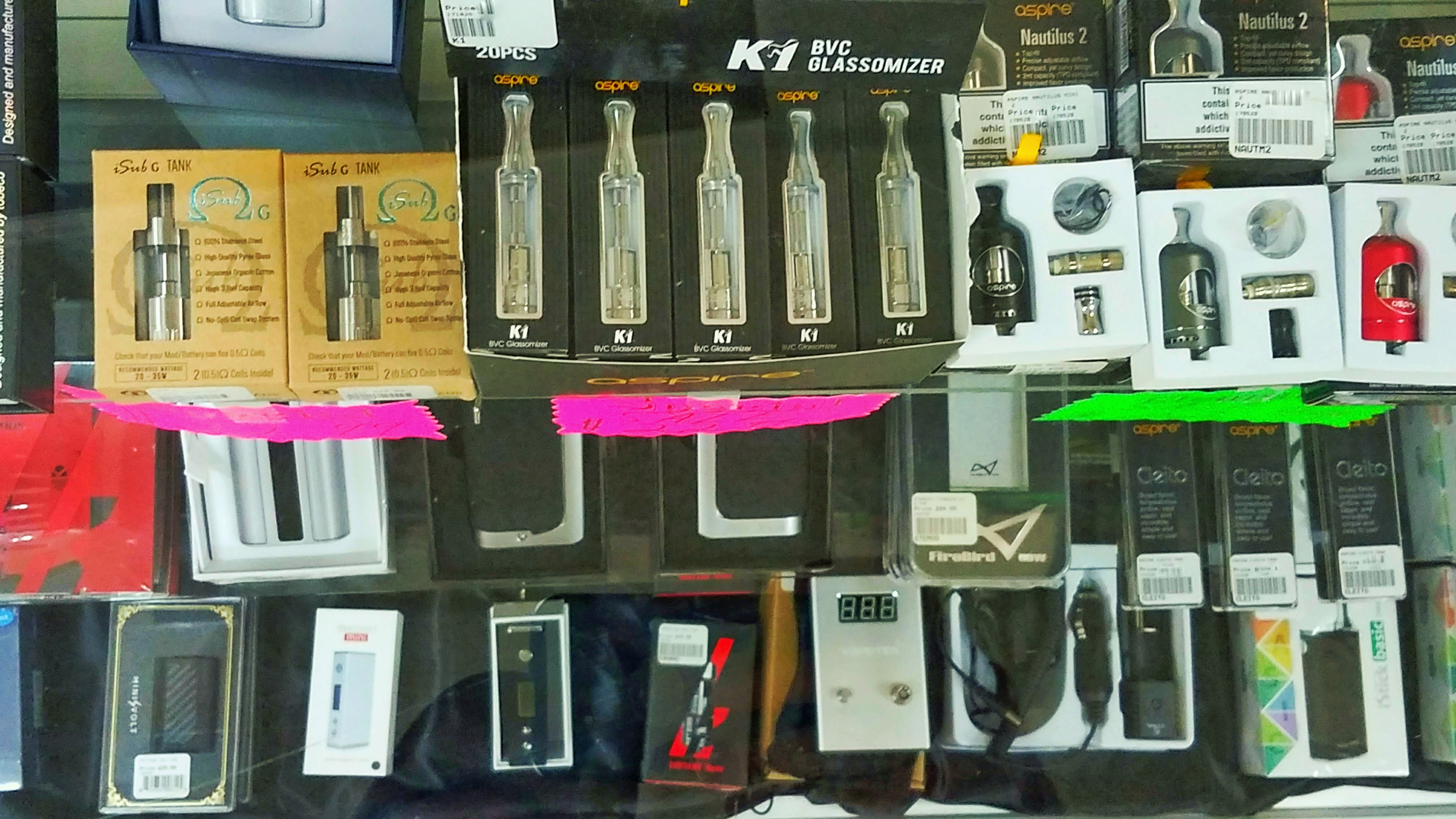 K1 Vaporizers in Store and More....