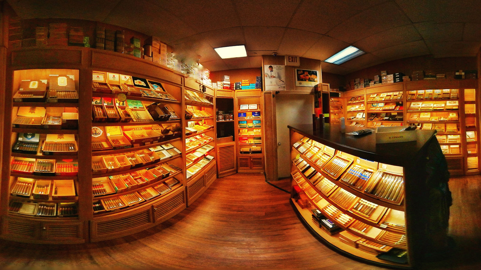 Large Walk In Humidor at Greenacres Store With Top Brands