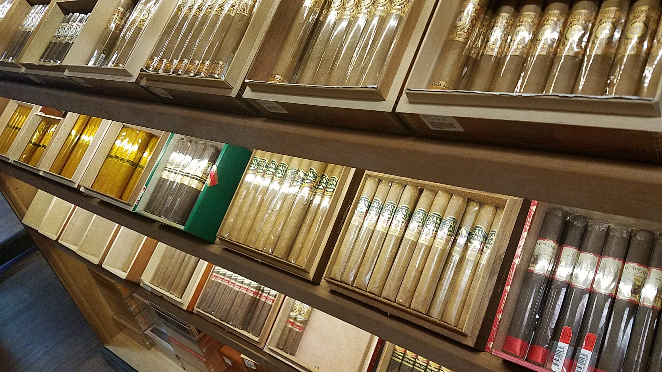 Premium Cigars in Humidor