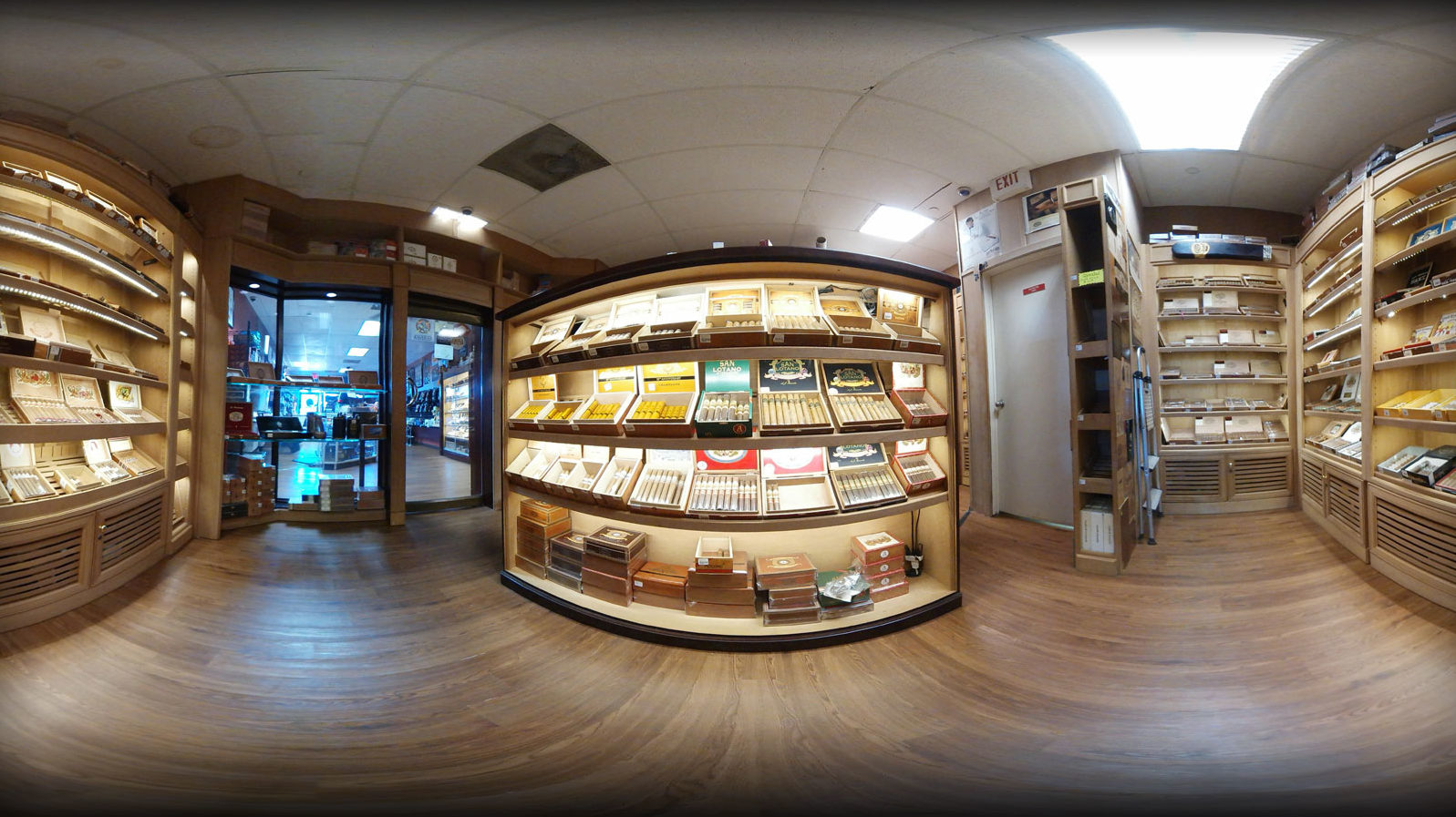 Cigar Humidor in Royal Palm Beach Store...
